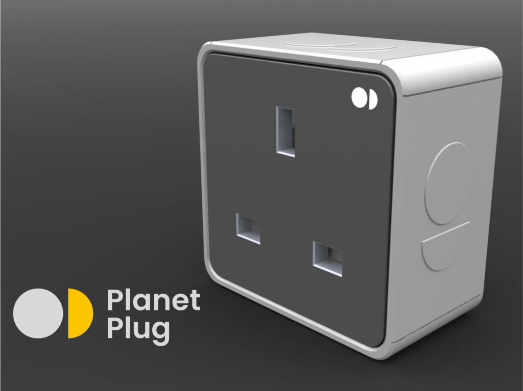 Planet Plug Front view
